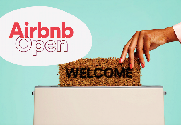 Paillasson welcome pour l'Airbnb Open de Paris 2015